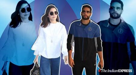 airport looks, airport fashion,siddhant chaturvedi latest photos, anushka sharma latest photos, kriti sanon latest photos, ranbir and alia latest photos, indian express lifestyle
