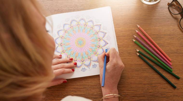 colouring, colouring books for adults, indian express news