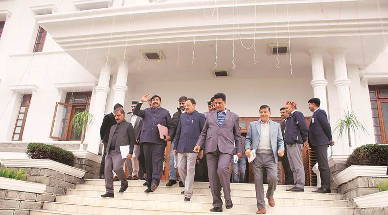 First day of Winter Session: Himachal CM hails investors' summit, Opposition walks out calling it a 'scam'