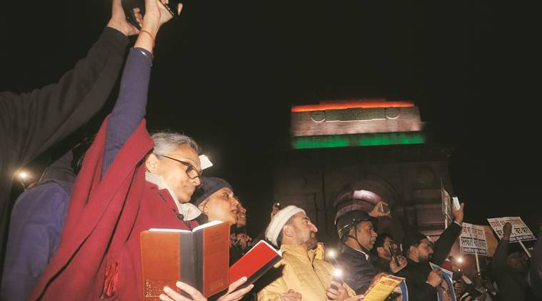 indian constitution, reading constitution, caa protests, nrc protests, indian express