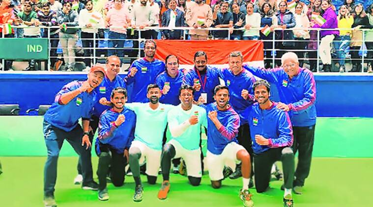 Davis Cup, Davis Cup finals, India vs Pakistan, Ind vs Pak, Ind vs Pak Davis Cup, Ind vs Pak Davis Cup final, Davis Cup finale, Sports news, Indian Express