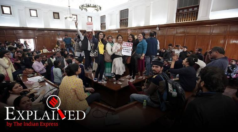 What ad hoc teachers' protest tells us about Delhi University recruitment