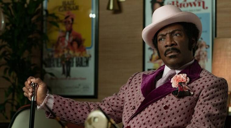 Eddie murphy says dolemite is my name is not his comeback film