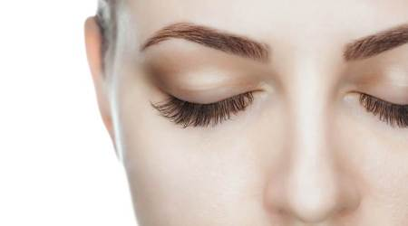 eyelashes, healthy eyelashes, long eyelashes, indian express news
