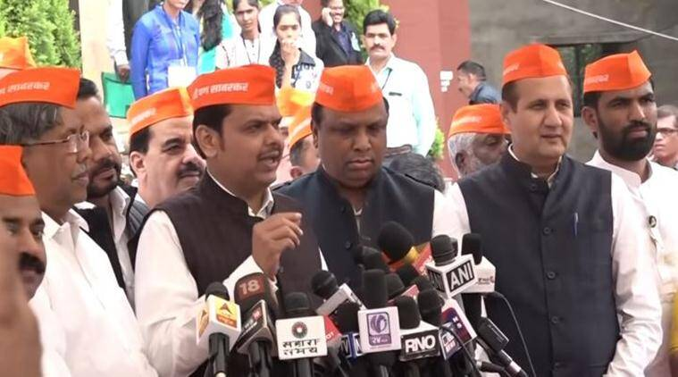 Maharashtra Assembly Day 1: Wearing 'Mi Pan Savarkar' caps, BJP leaders demand debate on Rahul Gandhi's remark