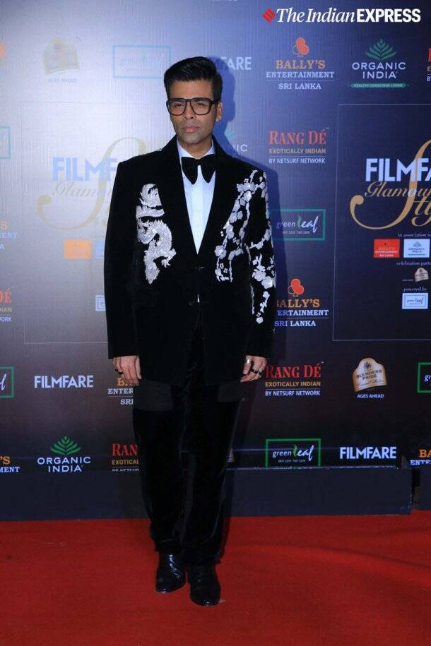 karan johar Filmfare Glamour and Style Awards
