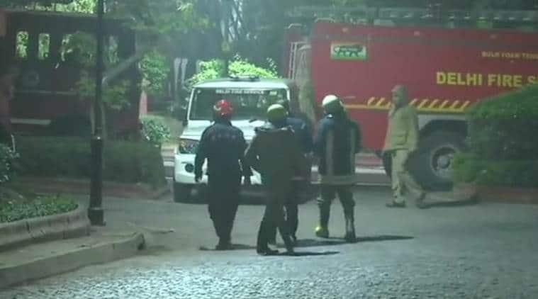 Delhi fire, PM Modi, Narendra Modi, Prime Minister Narendra Modi, fire at Modi's residence, fire at PM Modi's residence, India news, Indian Express