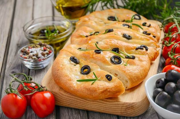 breads to eat, Focaccia breads, baking, easy baking