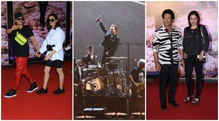 U2 India concert: Deepika Padukone, Ranveer Singh, Sachin Tendulkar and others attend