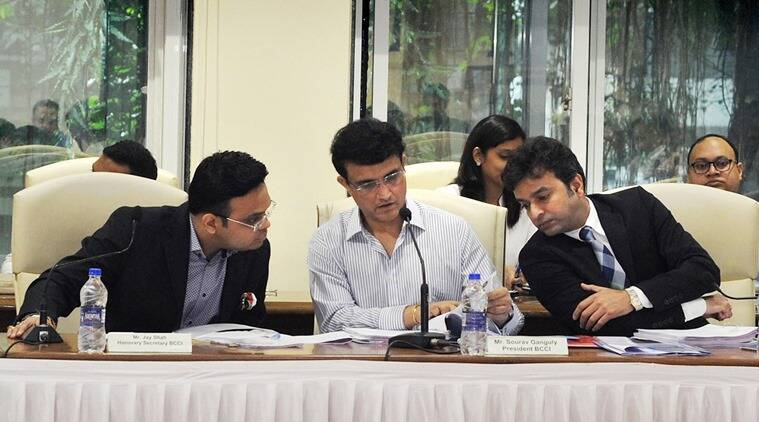 Unable to get ex-cricketers on board because of conflict clause: Ganguly