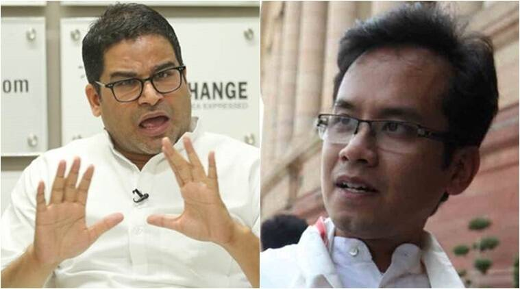prashant kishor, jd(u) vice president, rahul gandhi, caa protests, nrc, gaurav gogoi, india news, indian express