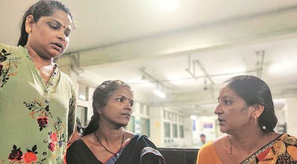 Treasurer booked for septic tanks deaths, Govandi housing society Treasurer booked, three labourers die after inhaling toxic gases, three labourers die in Govandi, septic tanks deaths in mumbai, manual scavanging deaths in mumbai, mumbai news, indian express news