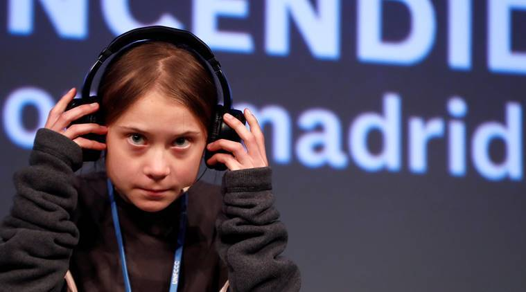 Greta Thunberg joins climate activists in Madrid, says 'attempts being made to silence us'