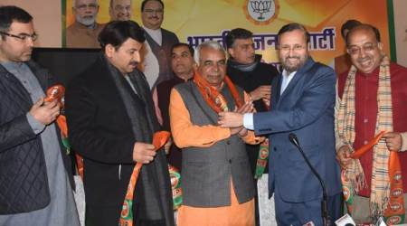 Guggan Singh Rana, Guggan Singh, Guggan Singh joins BJP, AAP leader joins BJP, Delhi elections, Delhi Assembly elections, Delhi BJP, Delhi news, city news, Indian Express