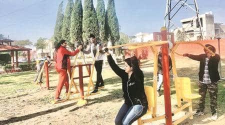 Hoshiarpur open gyms, open gyms, open gyms in India, open gyms in Delhi, Hoshiarpur MLA, India news, indian express news
