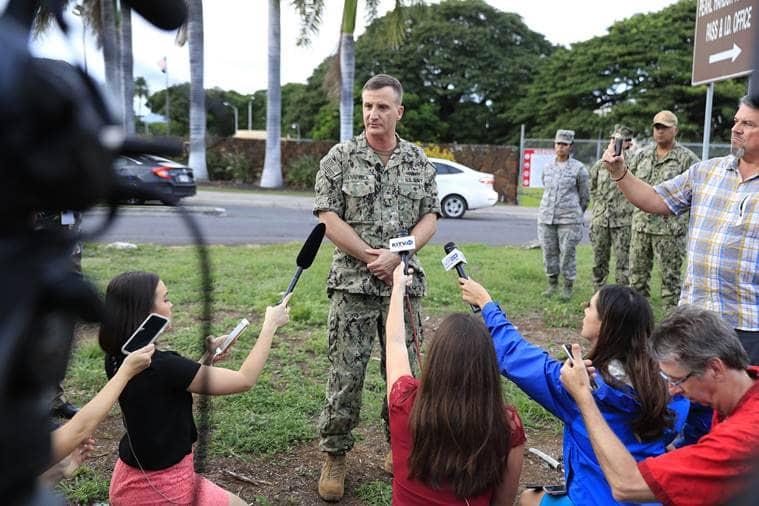 Pearl Harbor shooting, Hawaii shooting, Indian Air Force, RKS Bhadauria, IAF Pearl Harbor shooting, India news, Indian Express