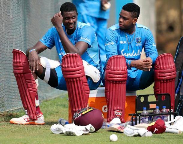 Shimron Hetmyer, Jason Holder
