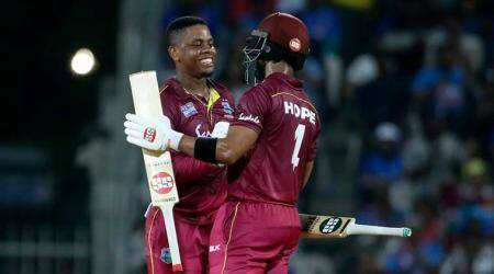 Shimron Hetmyer, Shai Hope blow away India to hand West Indies victory
