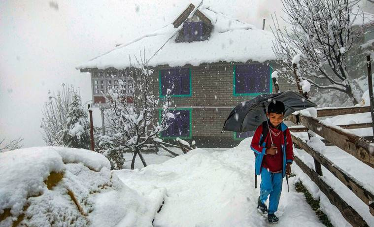Weather forecast today LIVE updates: Fresh snowfall in Himachal, MeT issues yellow warning