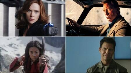 black widow, no time to die, mulan and top gun 2