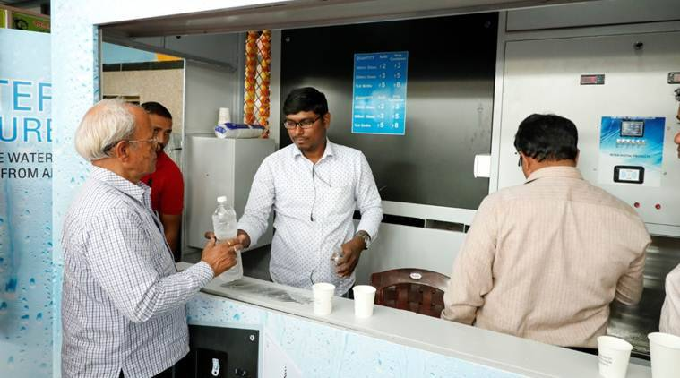 Secunderabad railway station offers drinking water from thin air at Rs 5 per litre