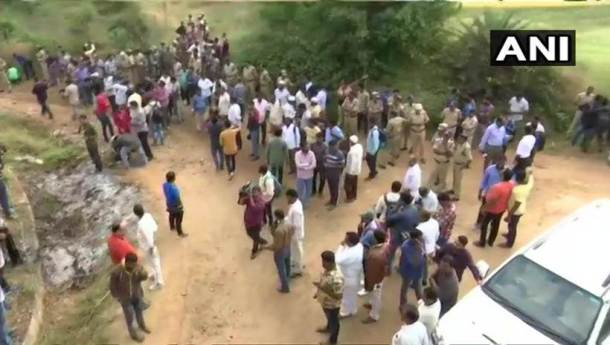 hyderabad rape murder case accused shot dead by telangana police001