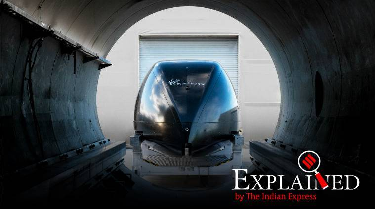 Mumbai-Pune hyperloop project, what is hyperloop project, Richard Branson hyperloop, Richard Branson to meet Uddhav Thackeray, indian express explained, indian express