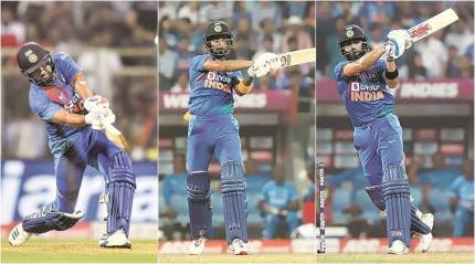 INDvWI final T20I: Three Musketeers & a change of script