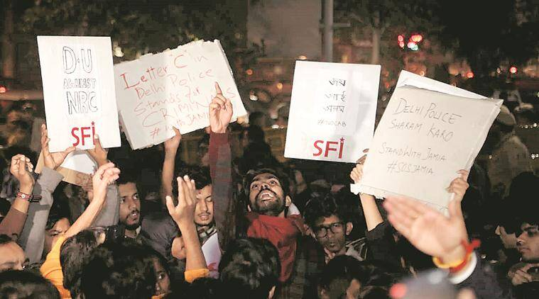 Day ends with fresh protest in heart of city