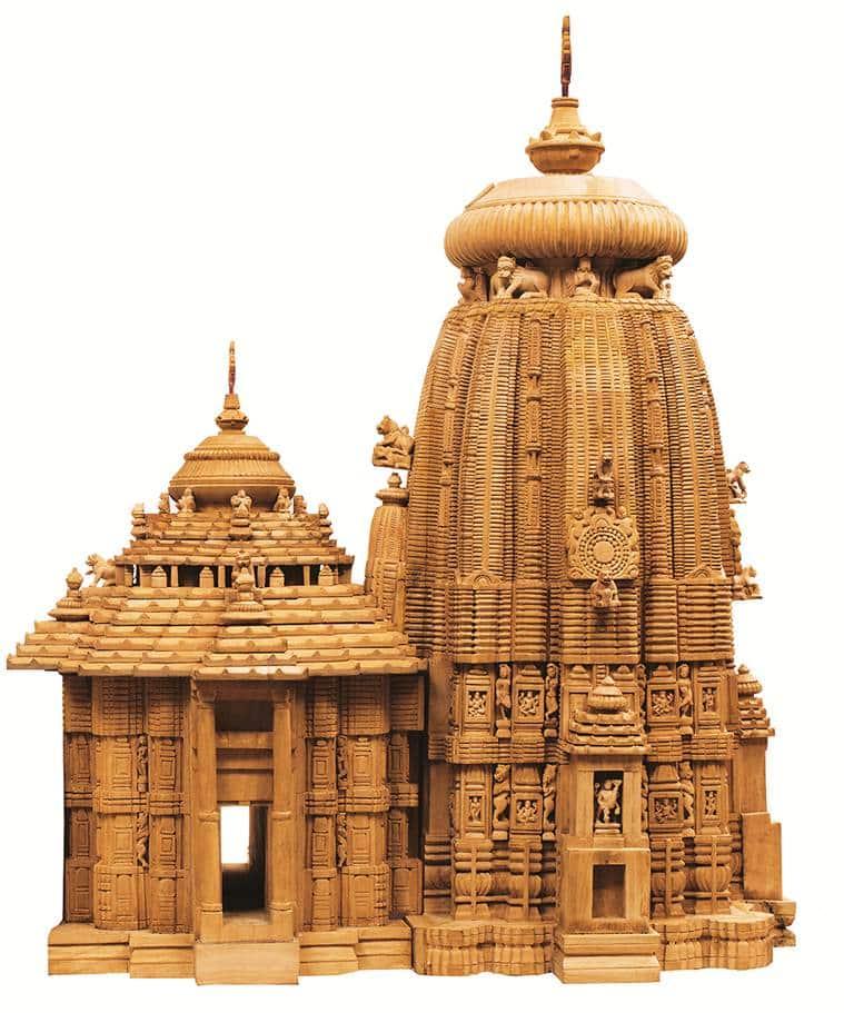 Odisha temples, Odhisha Jagannath Temple, Jagannath Temple Odisha, Odisha temples exhibition, Indian Express