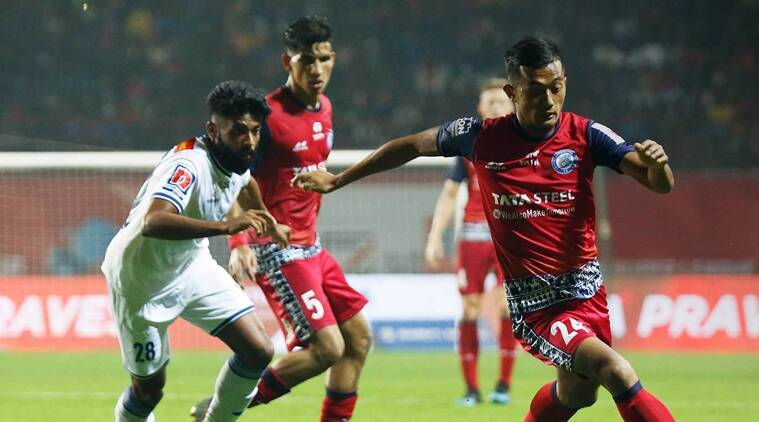 Isl 2019 jamshedpur steal a point from chennaiyin