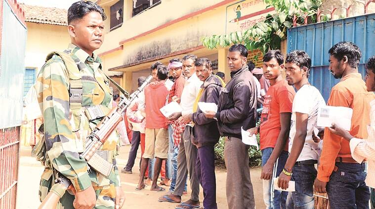 Jharkhand elections, Jharkhand Assembly elections, Jharkhand Assembly elections Phase 1, Assembly elections Jharkhand, India news, Indian Express