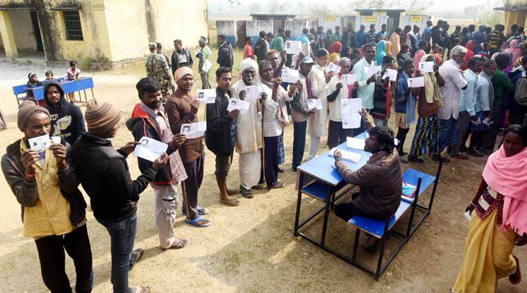 Jharkhand assembly polls 64 turnout in second phase one killed in violence at polling booth