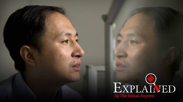 He Jiankui, chinese doctor who genetically edited babies, gene editing technique CRISPR, chinese doctor convicted for genetically editing babies, indian express, indian express explained, HIV AIDS