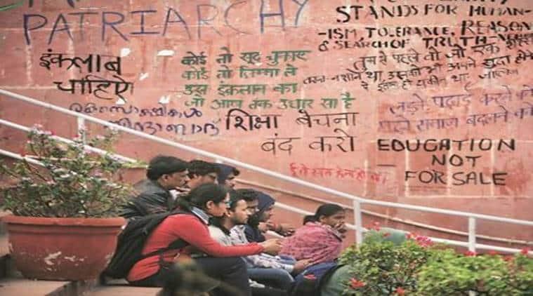 JNU, jnu protest, jnu fee hike, jnu admissions, jawaharlal nehru university, jnu.ac.in, jnu news, delhi news, indianexpress news