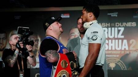 Anthony Joshua, Andy Ruiz ready for 'Clash on the Dunes'