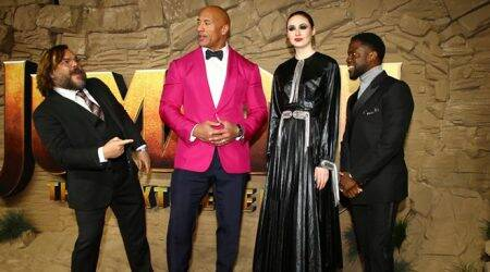 Jumanji The Next Level London premiere: Dwayne Johnson, Kevin Hart and others attend