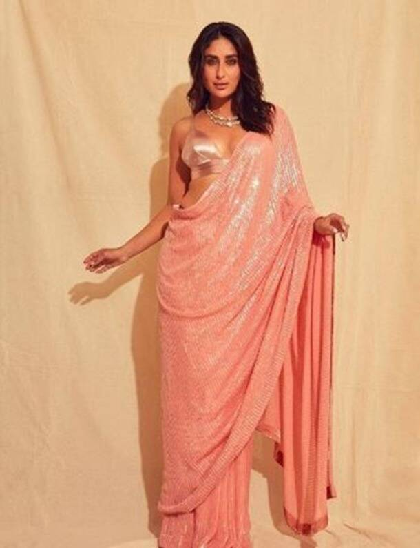 pink, latest bollywood photos, bollywood photos, deepika padukone latest photos, alia bhatt latest photos, kareena kapoor latest photos, katrina kaif latest photos, pink dress, celeb fashion, indian express