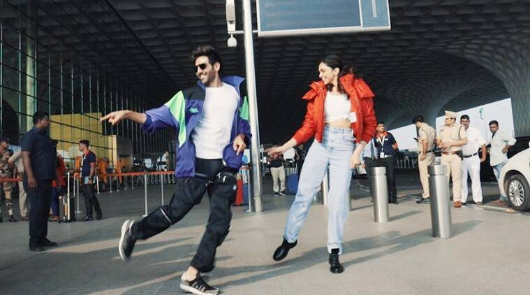 Deepika Padukone and Kartik Aaryan groove to Dheeme Dheeme, see video