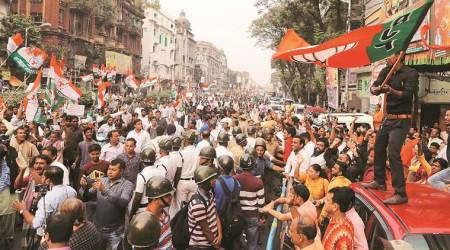 Scuffle in Kolkata as all protest rallies against Citizenship Bill head to BJP office