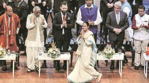 Bengal Business Conclave: Country's economy on a downslide but Bengal performing well, says Mamata