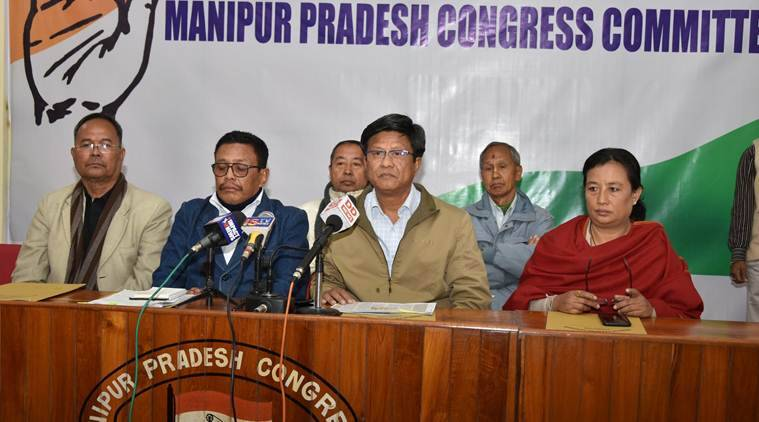 CAA protest, anti-citizenship protest, NRC protest, Manipur Congress, manipur news, indian express news