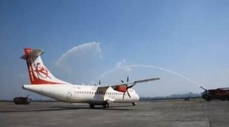Imphal-Dimapur flight, Imphal-Dimapur direct flight, Imphal-Dimapur direct flight schedule, Imphal-Dimapur direct flight timings, Imphal-Dimapur direct flight price, Manipur news, UDAN scheme, indian express