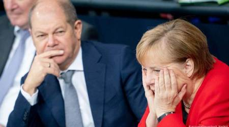 Germany's foreign policy divides Angela Merkel's coalition