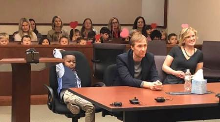 Adoption hearing of Michael Clark Jr