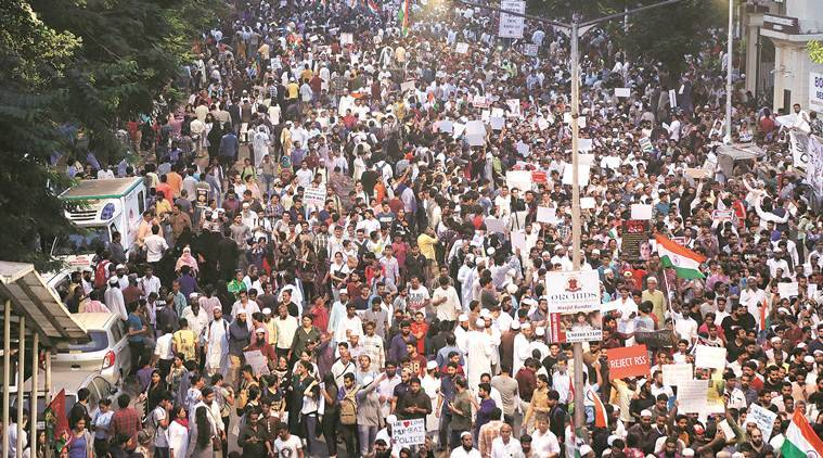 New Citizenship Law: Protests at Azad Maidan, the cradle of Quit India Movement