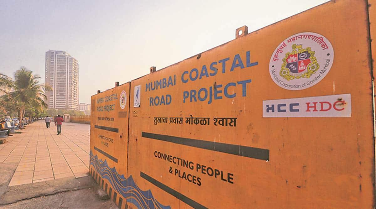 Mumbai coastal road project, CRZ notification, Mumbai news, Maharashtra news, Indian express news