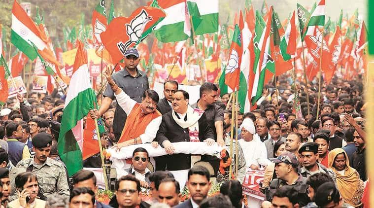 Caa protest mamata puts politics over national interest says jp nadda