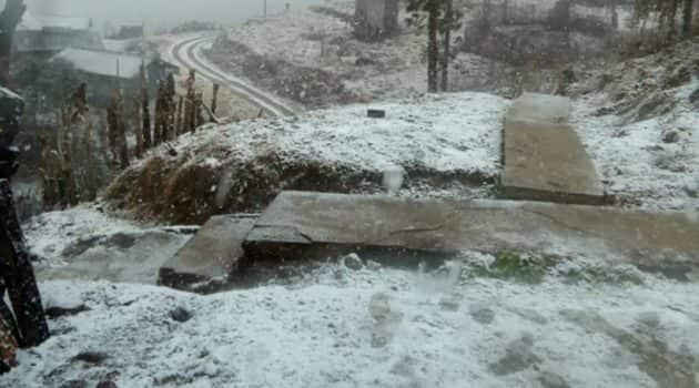 Nagaland snow, snow in Nagaland, Nagaland snowfall, snowfall in Nagaland, Nagaland weather, IMD, India Meteorological Department, Northeast news, Indian Express