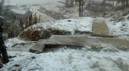 Nagaland snow, snow in Nagaland, Nagaland snowfall, snowfall in Nagaland, Nagaland weather, IMD, India Meteorological Department, Northeast news, Indian Express